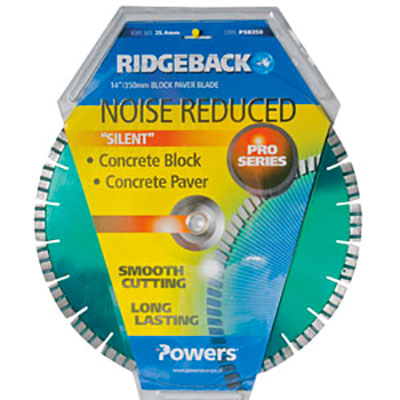 Powers Ridgeback Noise Reduced Block Blade